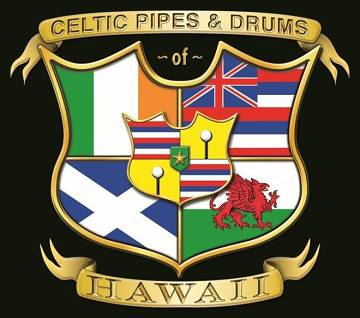Celtic Pipes and Drums of Hawaii logo