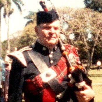 AJ Frappia, bagpiper Hawaii