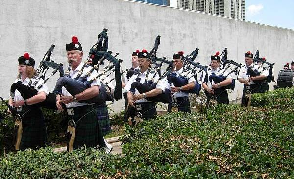 Bagpipes Highland Games Hawaii