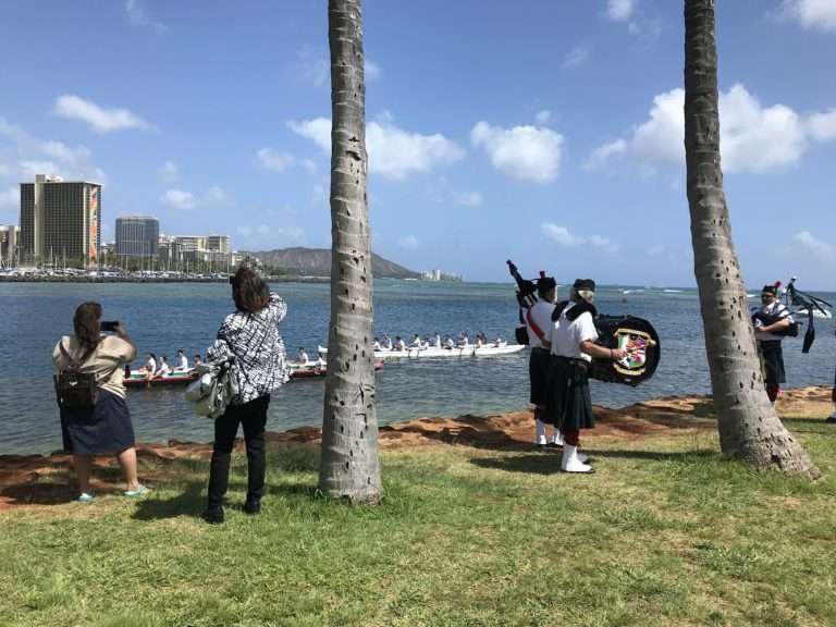 Celtic Pipes Drums of Hawaii at 2019 Willed Body Ceremony