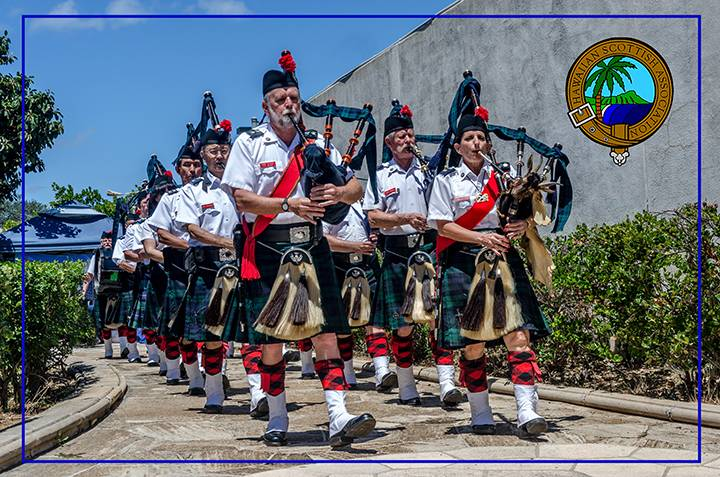 Celtic Pipes and Drums of Hawaii in 2015
