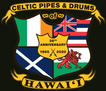 Celtic Pipes and Drums of Hawaii logo 2020