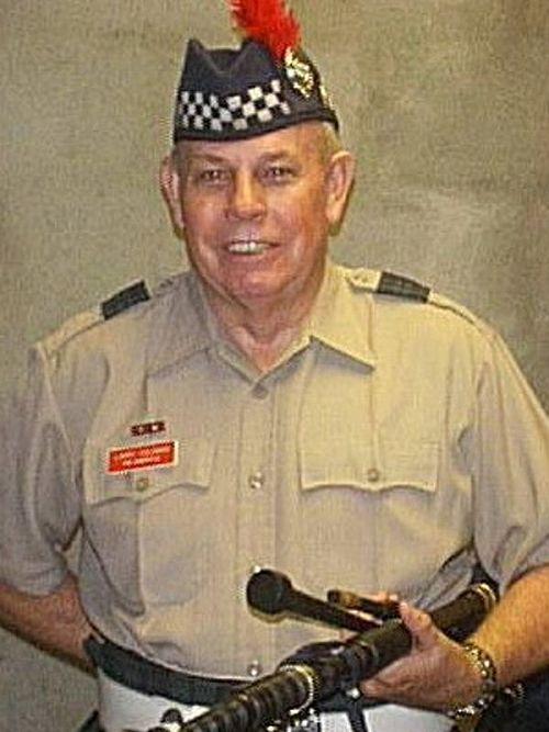 Lary Coleman Pipe Major Emeritus