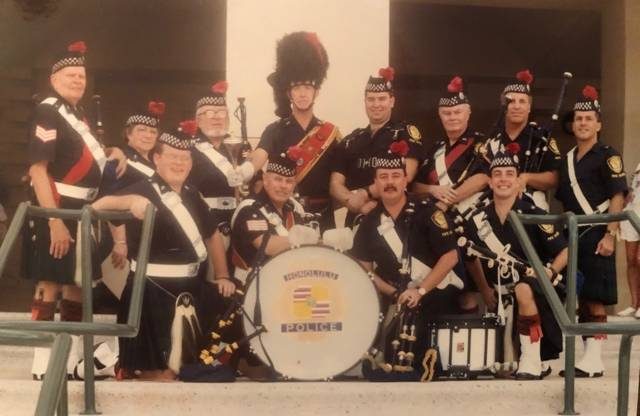 Celtic Pipes and Drums of Hawaii in 1992